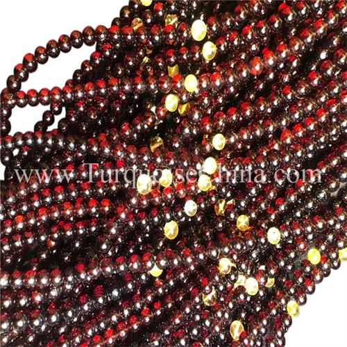 Baltic Circular Amber Unisex Strands Gift Necklace Bead