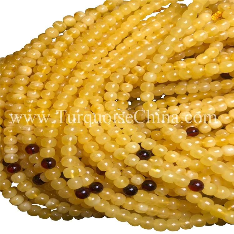 Amber Ball Beads Authentic Exquisite Strands