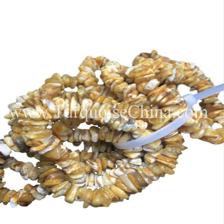 Natural Authentic Amber Irregular Shape Gemstone