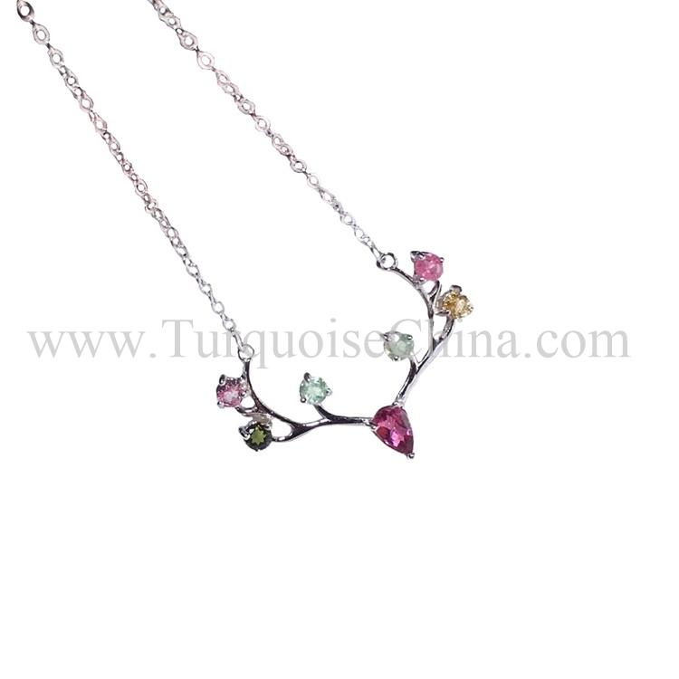Magnificent Remarkable Gemstone Of Deer Shape Tourmaline Necklace To Beautify The Appearance