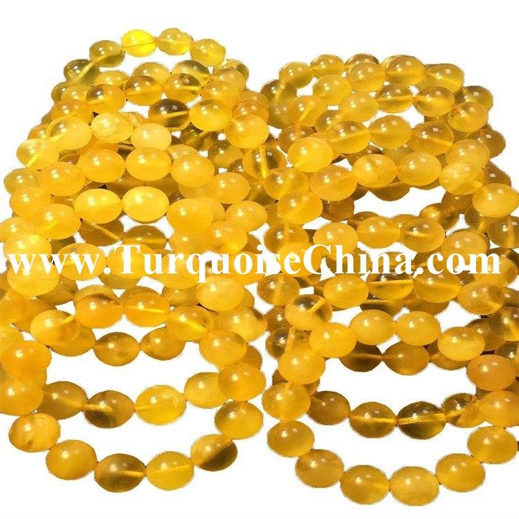 12-16mm Natural Baltic Amber Round Beads Necklace High Class Beads Quality