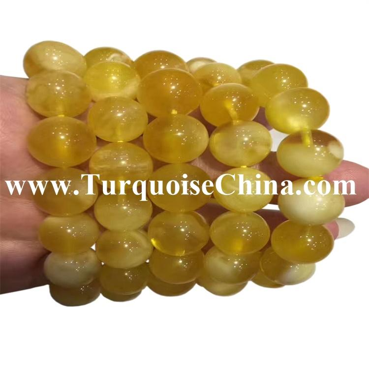 12mm Natural Baltic Amber Round Beads Strand