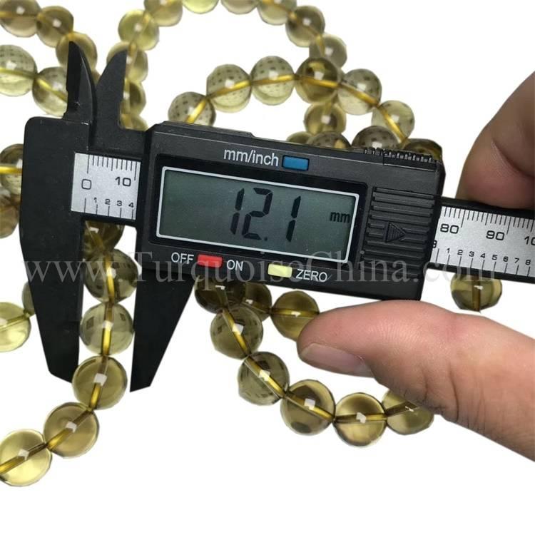 Natural Genuine Amber Glossy Ball Beeswax Bracelet For Men Hand Bracelet