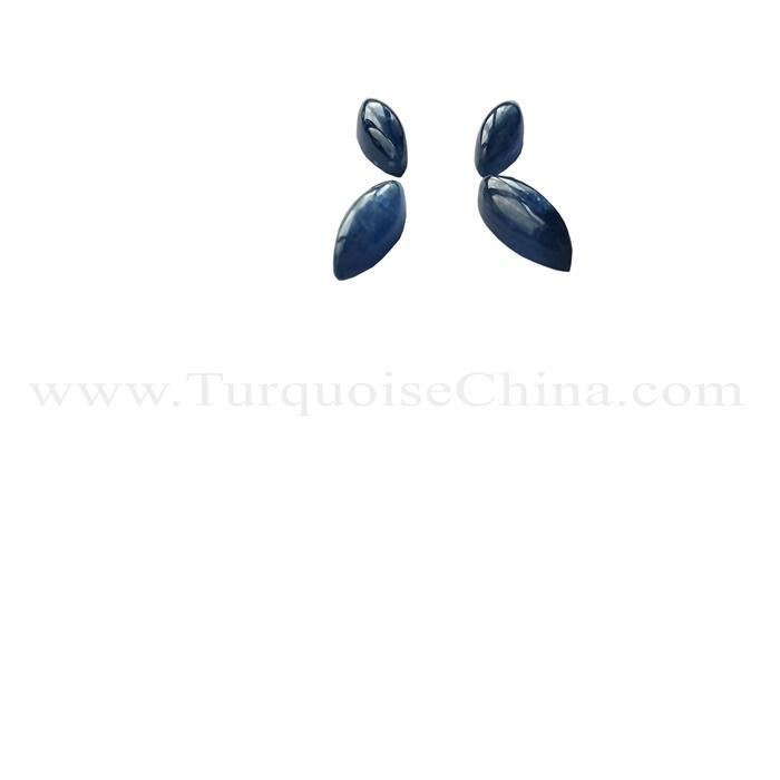 Natural Ocean Blue Aquamarine Crystal Water Drop Shape Healing Jewelry AAA
