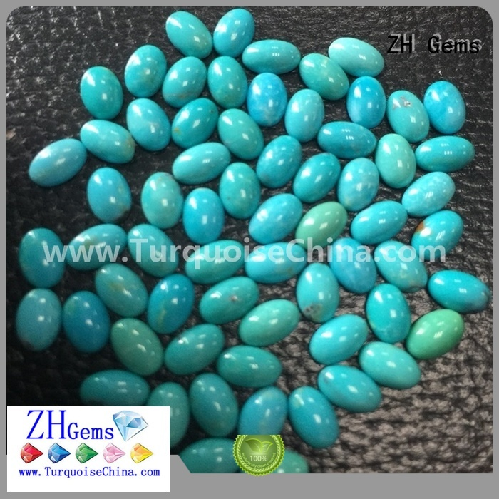 ZH Gems cabochon loose gemstones supplier for jewellery making