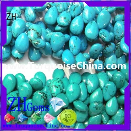 best turquoise beads professional supplier for necklace