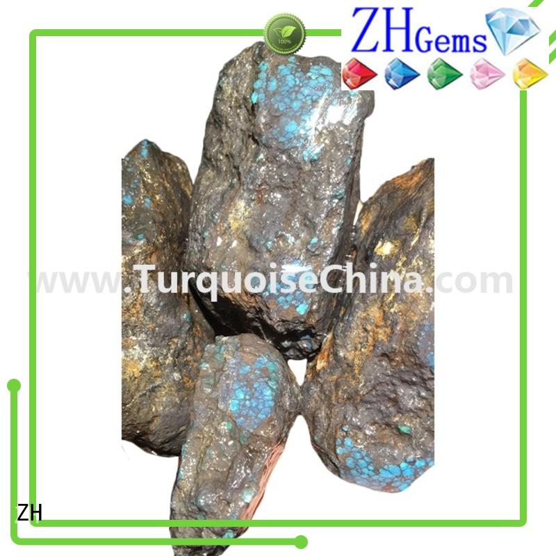 ZH bulk raw gemstones reliable supplier for ring