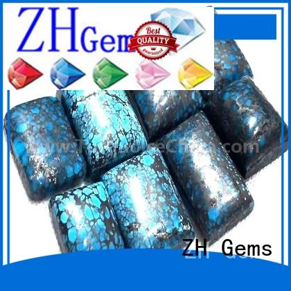 ZH Gems best spiderweb turquoise cabochons reliable supplier for jewellery making