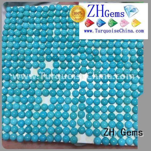 excellent round turquoise cabochon reliable supplier for necklace