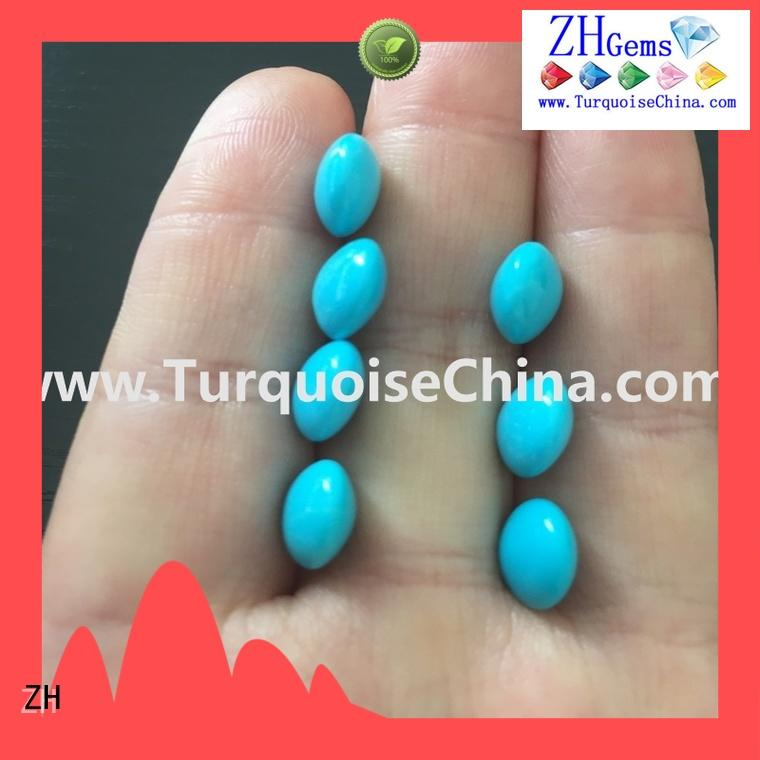 ZH excellent turquoise beads natural supplier for earings