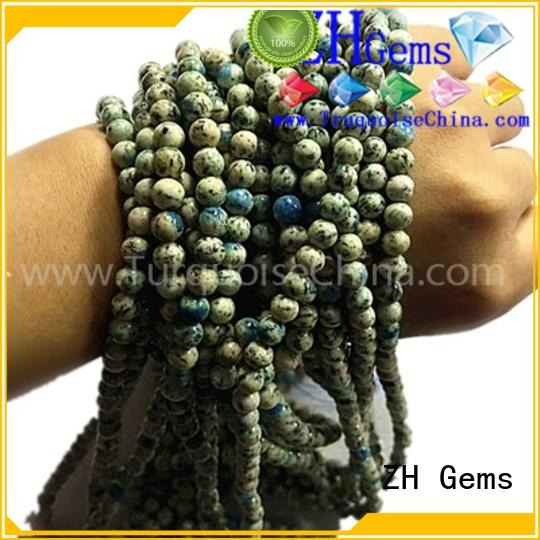 ZH Gems chunky gemstone beads supplier for earings