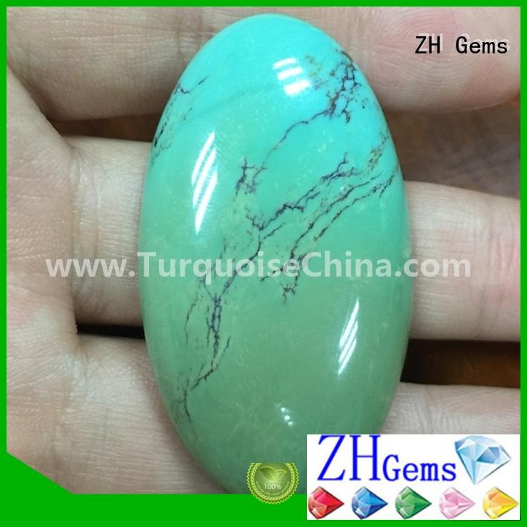 ZH Gems cabochon loose gemstones reliable supplier for necklace