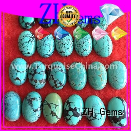 perfect oval turquoise stone supply for jewelry