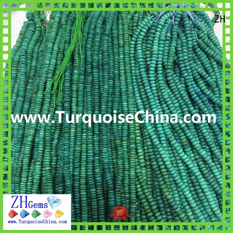 top quality natural turquoise beads business for ring