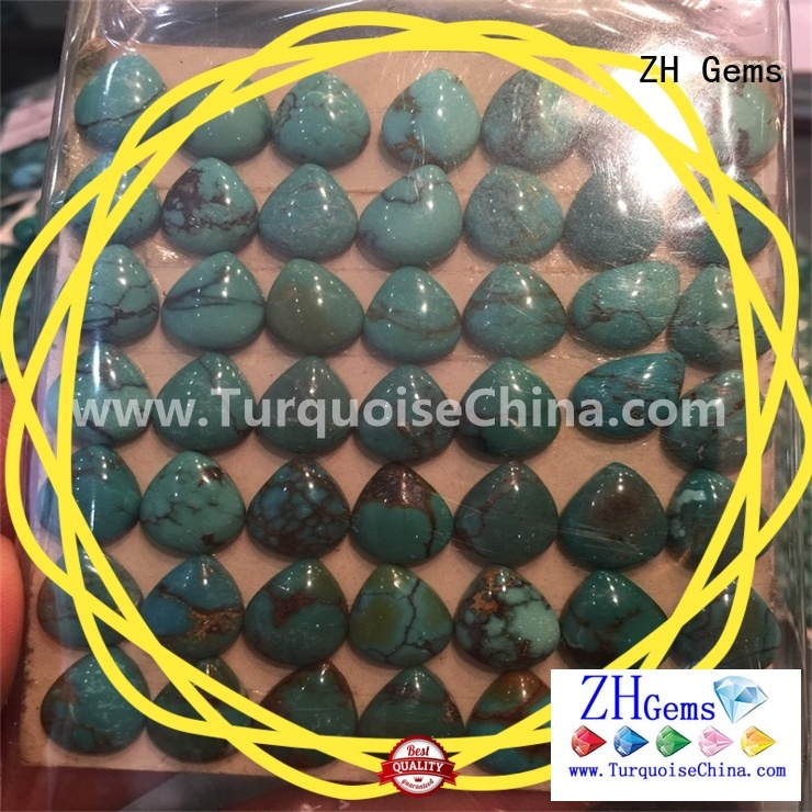 ZH Gems wholesale turquoise cabochons business for jewelry