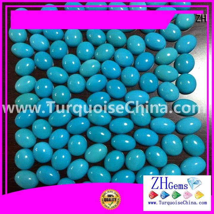 ZH good quality sleeping beauty turquoise wholesale professional supplier for earings