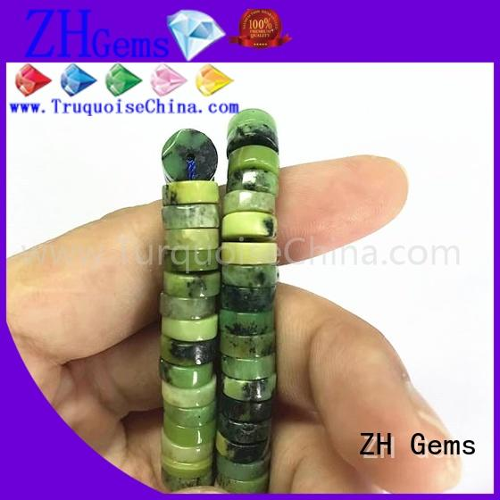 ZH Gems good quality gemstone beads in bulk supplier for ring