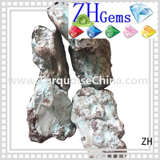 ZH wholesale turquoise supply for necklace