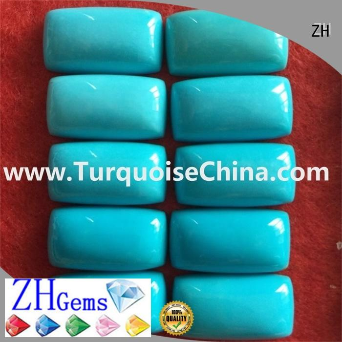 ZH good quality turquoise cabochon reliable supplier for earings