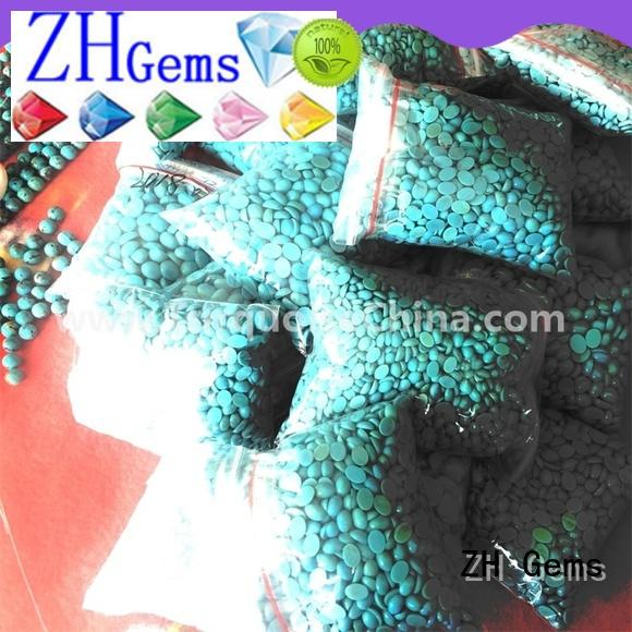 ZH Gems natural stone cabochons professional supplier for necklace