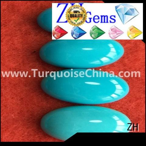 ZH best natural sleeping beauty turquoise business for bracelet