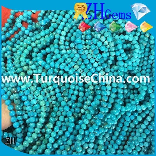 ZH round gemstone beads business