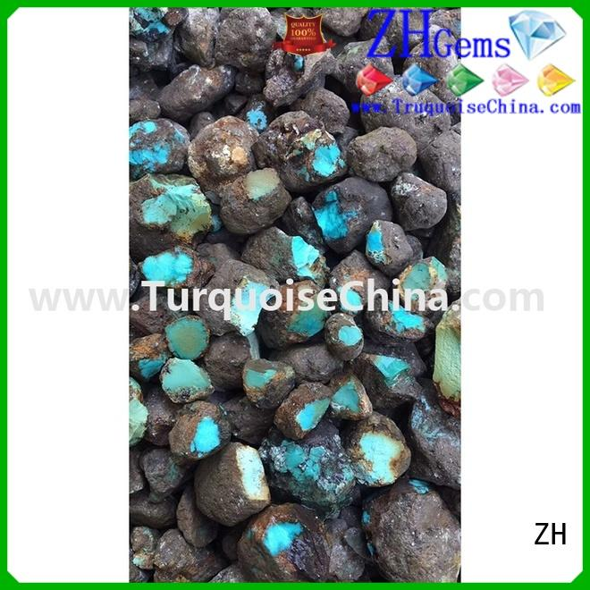 ZH rough gemstones supplier for jewelry making