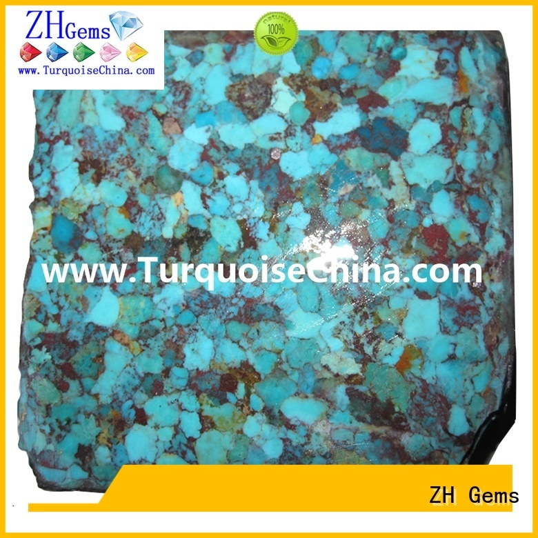 good quality turquoise stone rough reliable supplier for bracelet