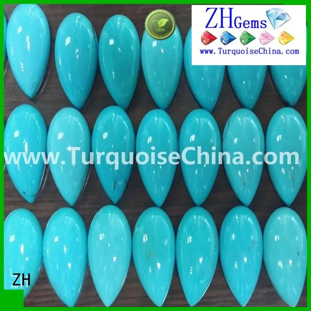 ZH best sleeping beauty turquoise stone supply for necklace