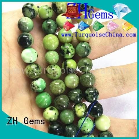 ZH Gems semi gemstone beads supplier for jewelry