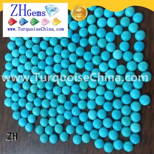 ZH loose turquoise cabochon reliable supplier for jewellery making