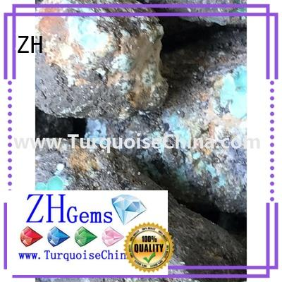 ZH turquoise gems supply for necklace