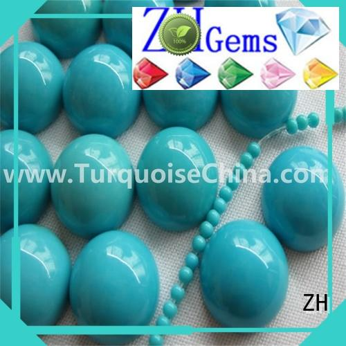 ZH perfect wholesale turquoise cabochons supply for necklace