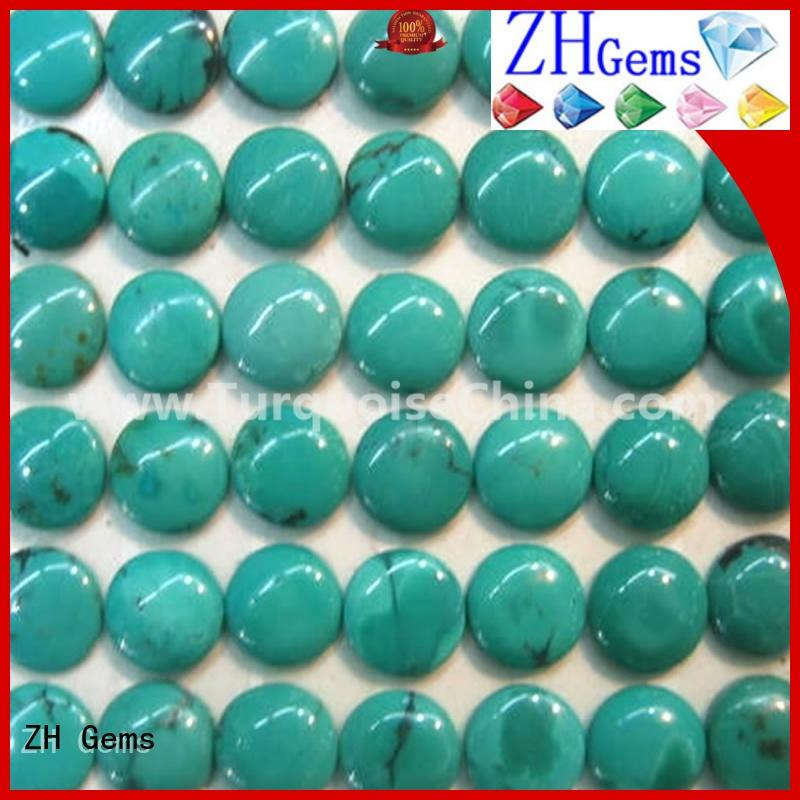 ZH Gems top quality wholesale cabochon gemstones professional supplier for ring