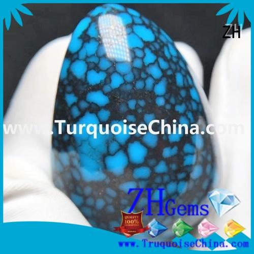 ZH genuine turquoise beads wholesale professional supplier for earings