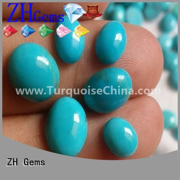 ZH Gems cabochon loose gemstones supplier for necklace