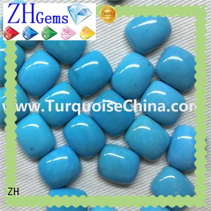 ZH sleeping beauty turquoise professional supplier for jewellery making