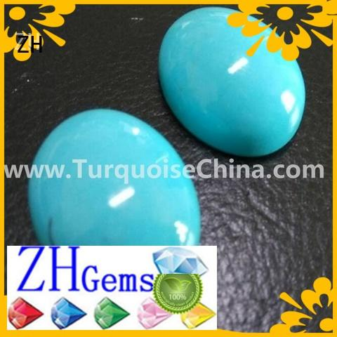 excellent sleeping beauty turquoise cabochon professional supplier for jewelry making