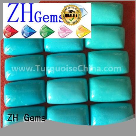 ZH Gems beautiful cabochon rectangle supply for jewelry