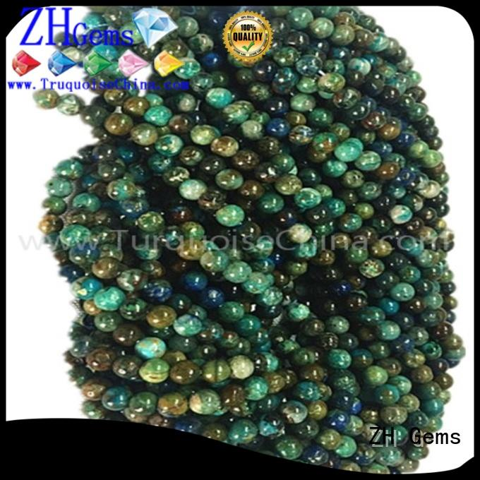 ZH Gems natural gemstone beads reliable supplier for necklace
