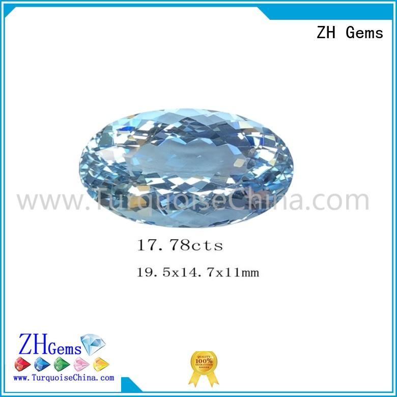 ZH Gems wholesale cabochon gemstones supplier for bracelet