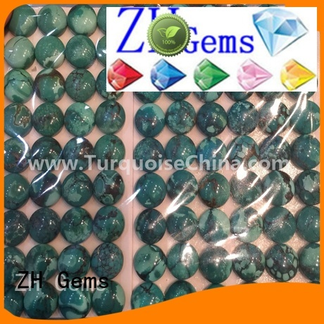 ZH Gems loose turquoise gemstones business for ring