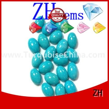 perfect turquoise cabochon professional supplier for earings