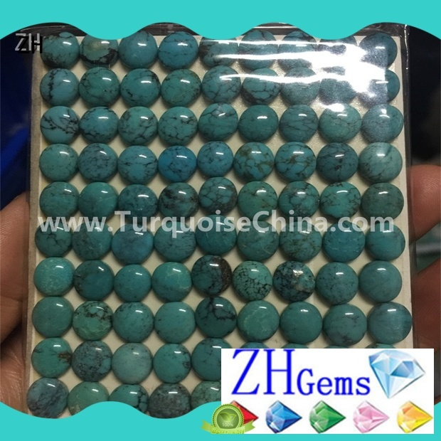 ZH cabochon loose gemstones supply for jewelry making