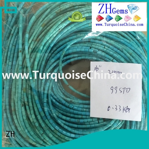 ZH great turquoise heishi beads wholesale supplier for ring