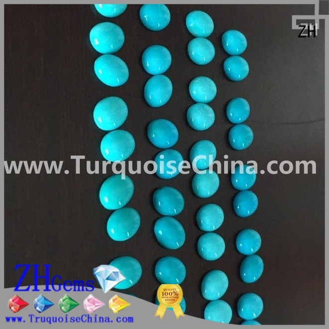 ZH excellent natural sleeping beauty turquoise professional supplier for earings