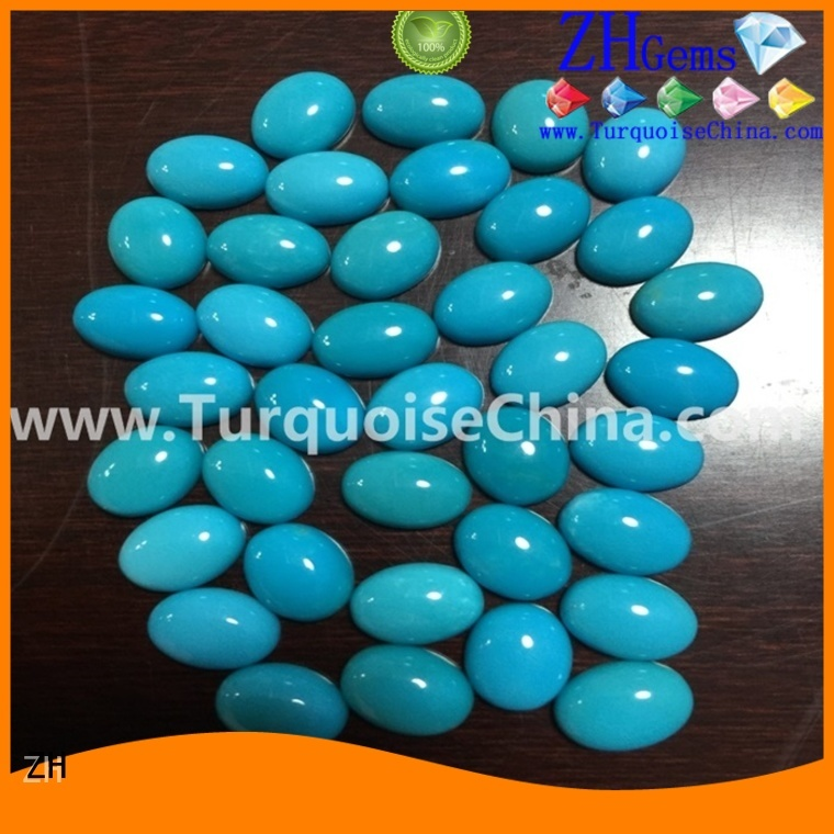 best natural turquoise cabochon supplier for jewellery making