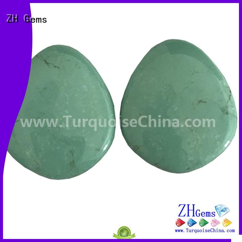 ZH Gems top quality pear gem reliable supplier for necklace
