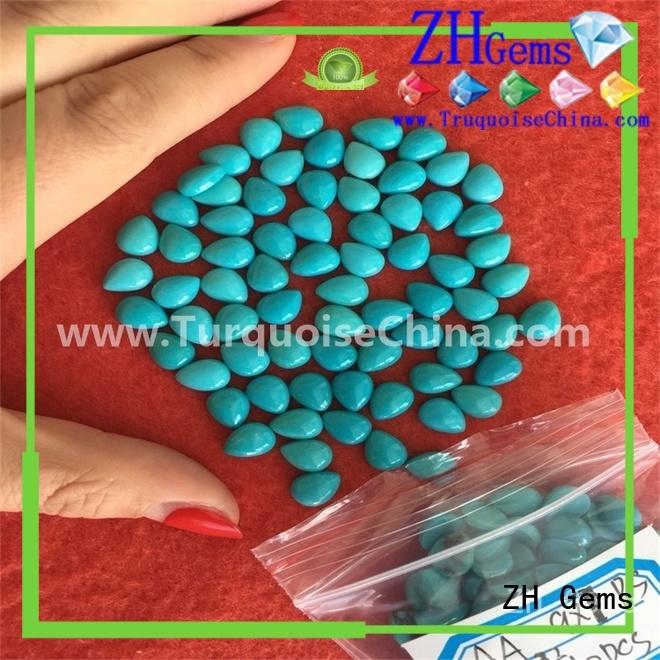 ZH Gems wholesale turquoise business for bracelet