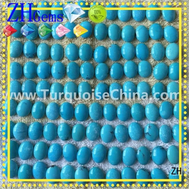 ZH perfect genuine sleeping beauty turquoise reliable supplier for earings